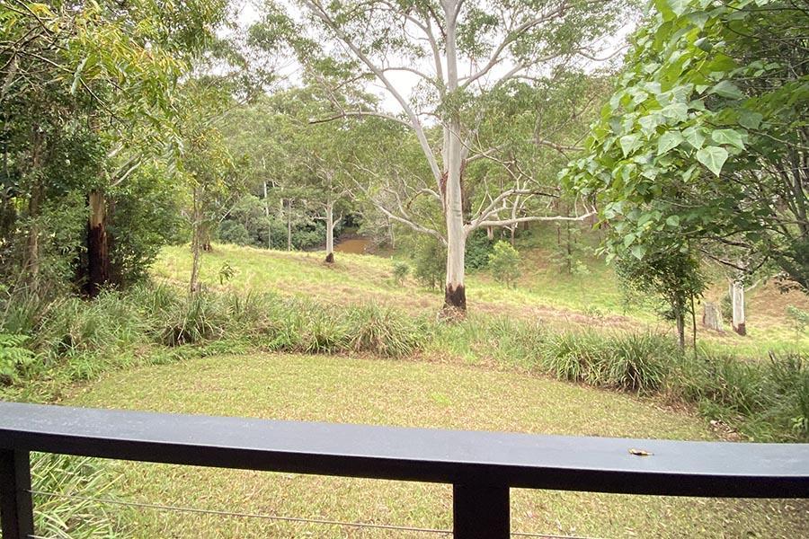 Hideaway bush view